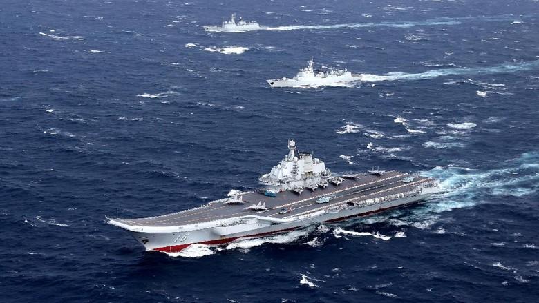 Ada Kapal Induk China, Taiwan Kerahkan Jet Tempur Untuk Menghalau