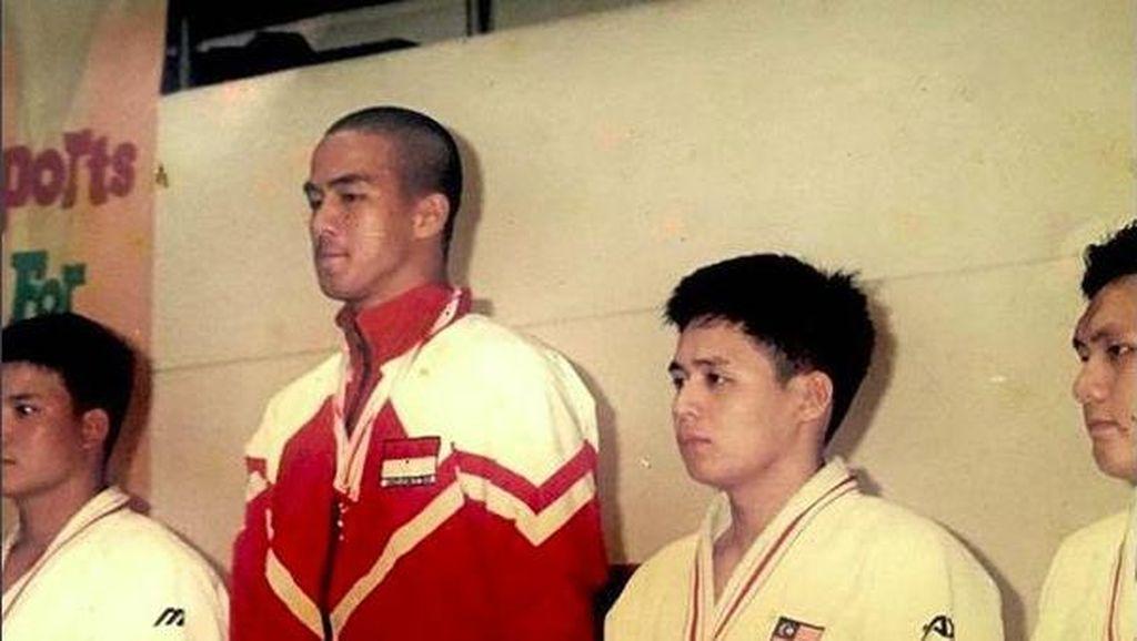 Kurus-Botak, Ini Foto Joe Taslim Saat Jadi Pahlawan Indonesia Lewat Judo