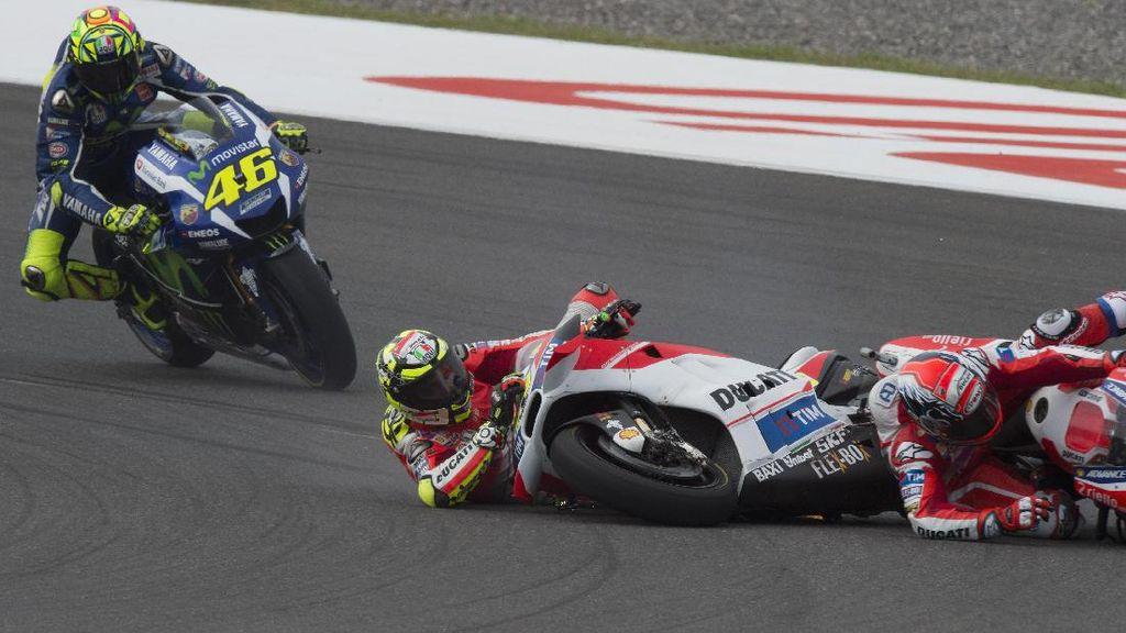 Kalau Motor MotoGP Crash, Berapa Biaya Servisnya?