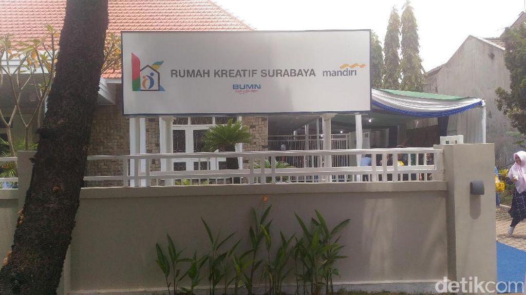Dukung UMKM, Bank Mandiri Hadirkan Rumah Kreatif BUMN di Jatim