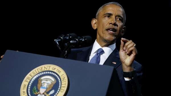 Perpisahan Obama Jadi Juara <i>Trending Topic</i> Dunia