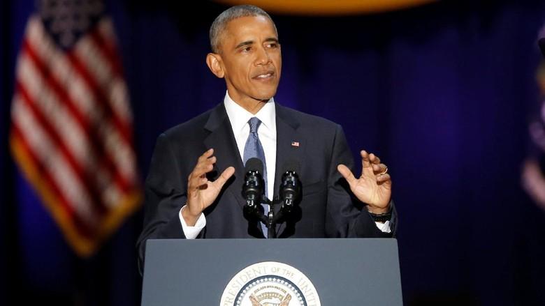 Pidato Perpisahan, Obama Pastikan ISIS Akan Dihancurkan