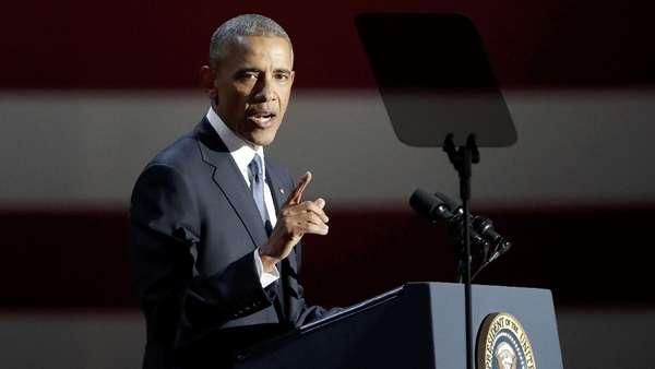Pidato Perpisahan, Obama Tolak Diskriminasi Warga Muslim AS