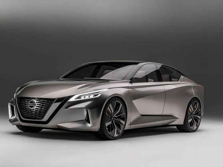 Konsep Mobil Otonom Nissan V-Motion 2.0