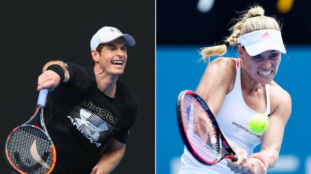 Murray & Kerber Unggulan Teratas, Potensi Federer vs Nadal di Babak Ketiga