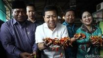 Operasi Cabai Setya Novanto di Pasar Kramat Jati