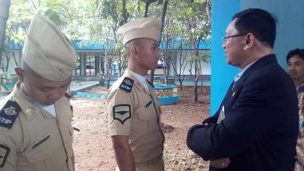 Kunjungi STIP, Anggota Komisi V DPR Berdialog dengan Taruna
