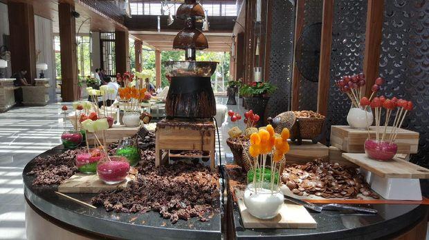 Chocolate Hour yang gratis untuk tamu (Fitraya/detikTravel)
