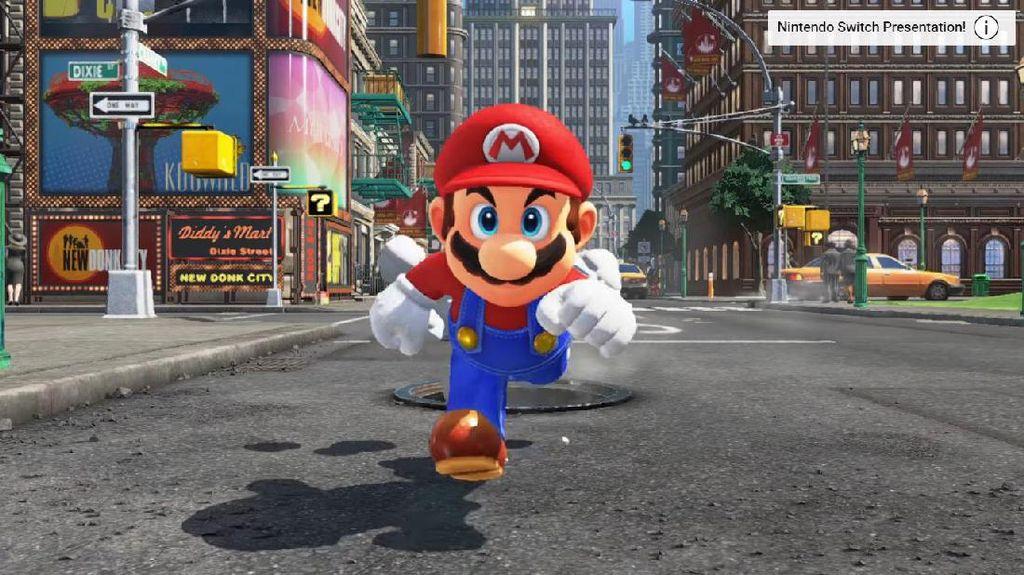 Nintendo Siap Pamerkan Super Mario Odyssey