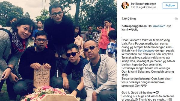 Ziarah ke Makam Oon, Project Pop Sudah Ikhlas