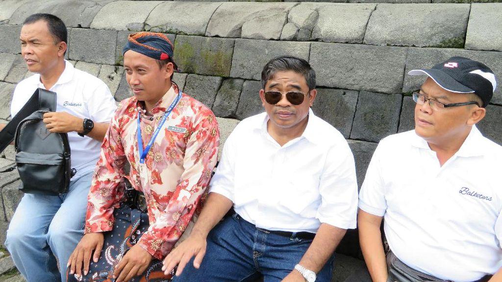 Kunjungi Borobudur, Plt Gubernur & Rombongan Pemprov DKI Belajar Sejarah