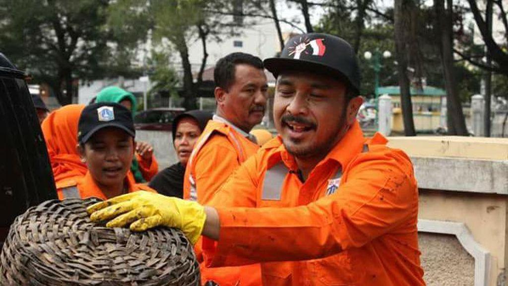 Giring Nidji Beraksi Jadi Pasukan Oranye, Ini Kata Pemprov DKI