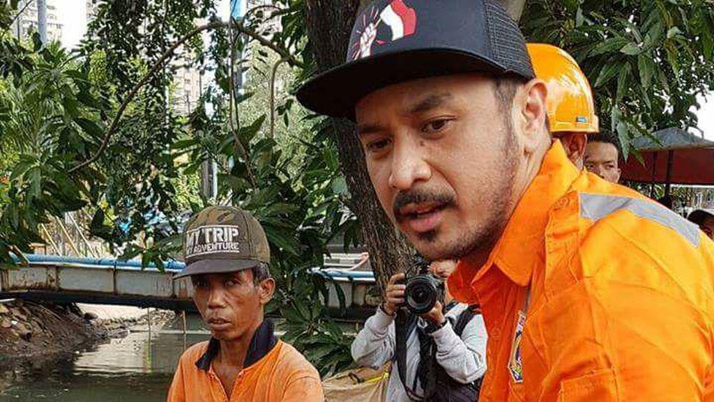 Giring Nidji Beraksi Jadi Pasukan Oranye Jakarta