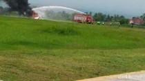 Imbas Pesawat Latih Terbakar, 2 Penerbangan Komersial Alami Delay