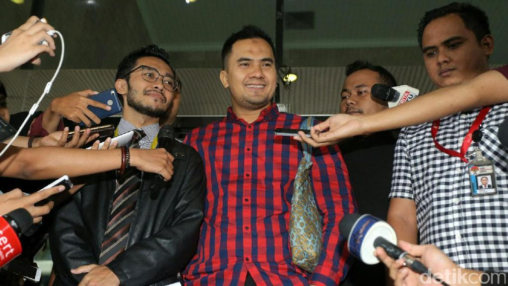 Sopir Saipul Jamil Kembali Diperiksa KPK untuk Ketiga Kalinya