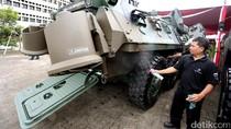Mobil Perang Pindad dan Tata Motors Bisa Berjalan di Air