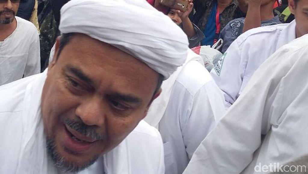 Akun Twitter FPI dan Habib Rizieq Di-suspend