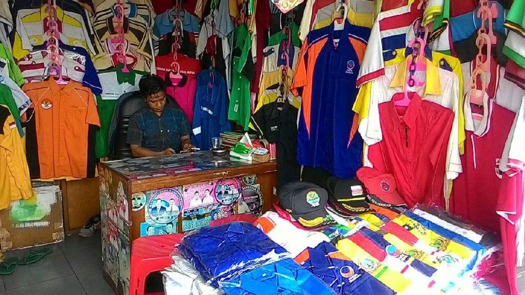 Order Atribut Pilkada Sepi, Pengusaha Konveksi Jemput Bola ke Daerah
