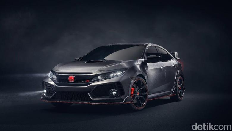 Honda Civic Type R Versi Produksi Diluncurkan Bulan Depan
