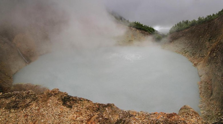 Boiling Lake yang ajaib di Dominika (Thinkstock)