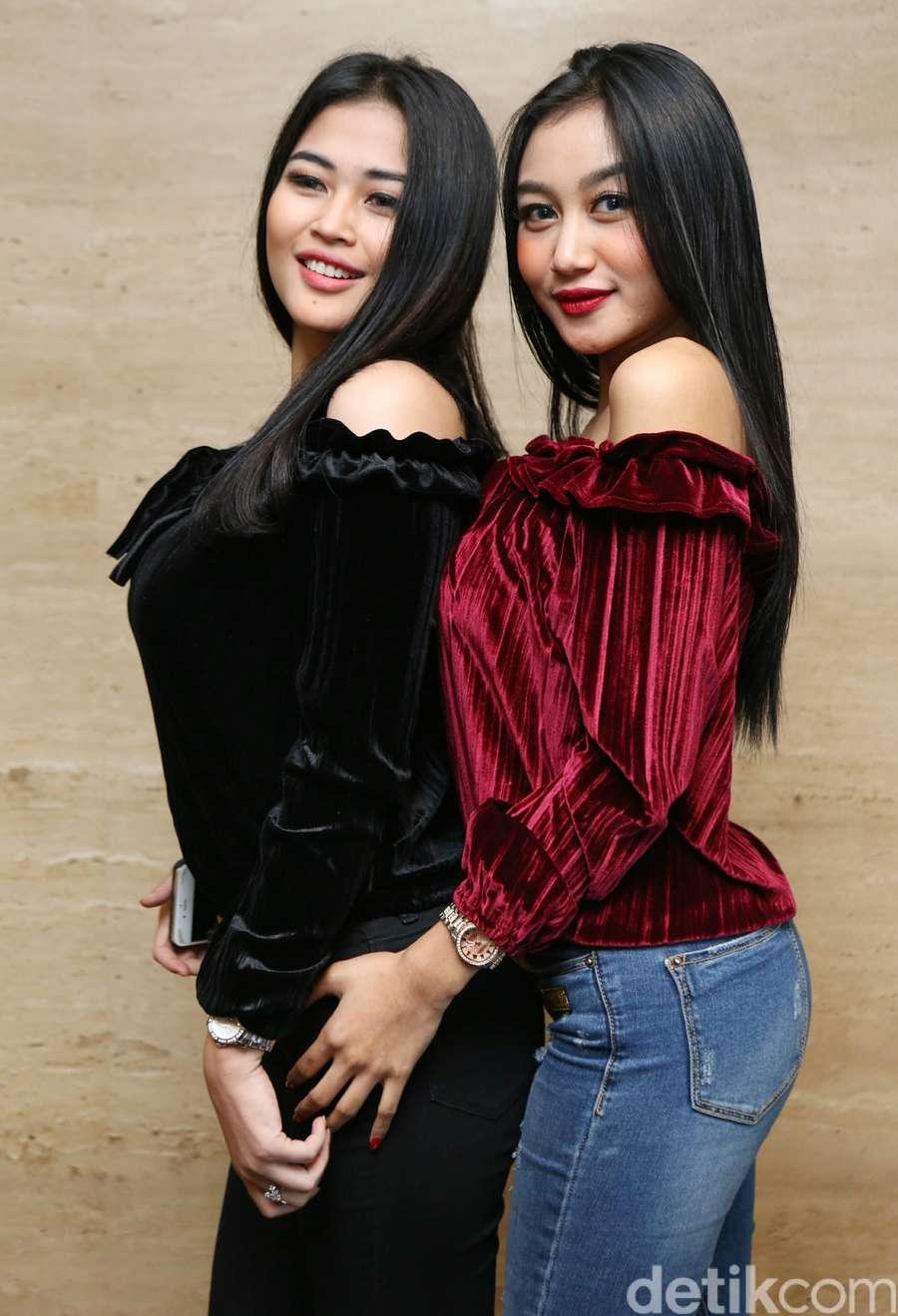 Foto hot duo serigala - Merahnya Pipi Pamela Duo Serigala Denada Kangen Ihsan Tarore