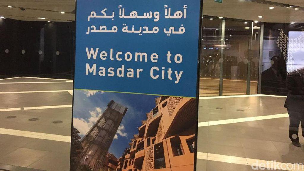 Masdar City, Kota Hemat Energi di Negeri Kaya Minyak