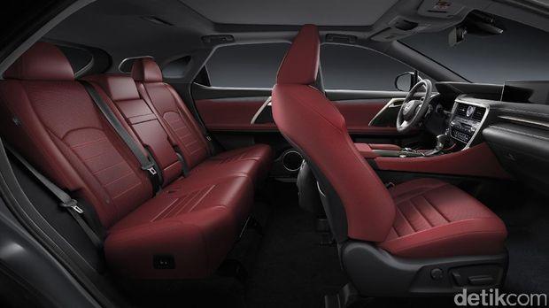 Jok sporty Lexus RX 200t F SPORT