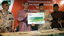 Semen Indonesia Berikan 5000 Sak Semen untuk NU Peduli Aceh