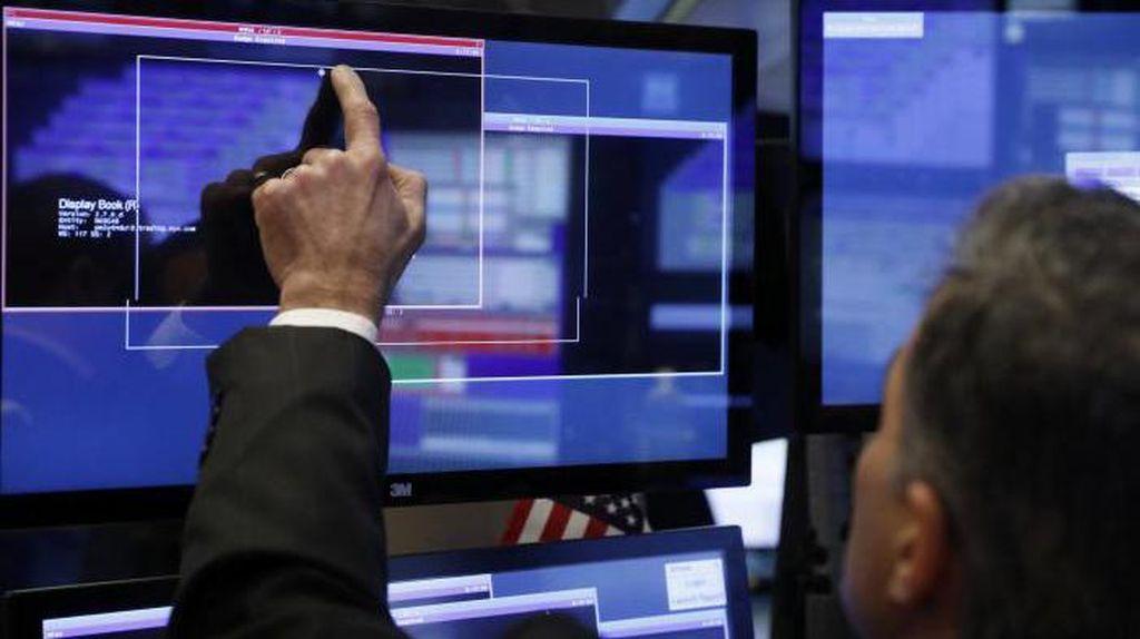 Wall Street Positif, Dow Jones Kembali Cetak Rekor
