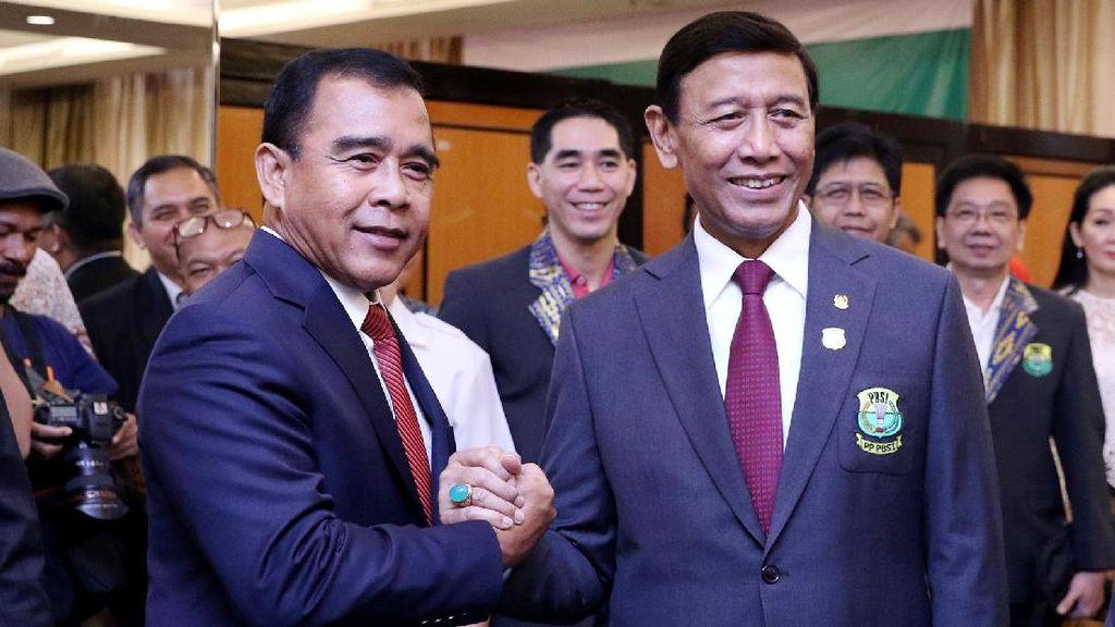 KONI Resmi Melantik PP PBSI Kabinet Wiranto