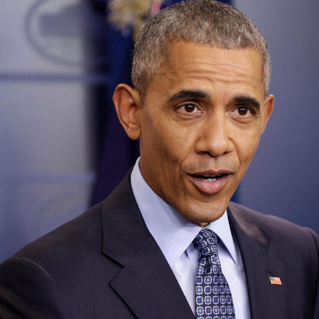 Cuitan Barack Obama Pegang Rekor Like Tertinggi Saat Ini