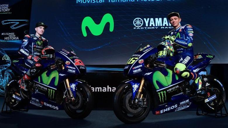 Rossi dan Vinales Kombinasi Fantastis bagi Yamaha