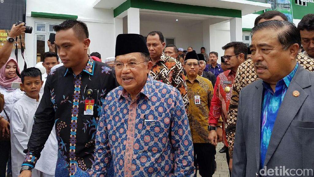 Gubernur Zaini Laporkan Pelaksanaan Pilkada Aceh ke JK