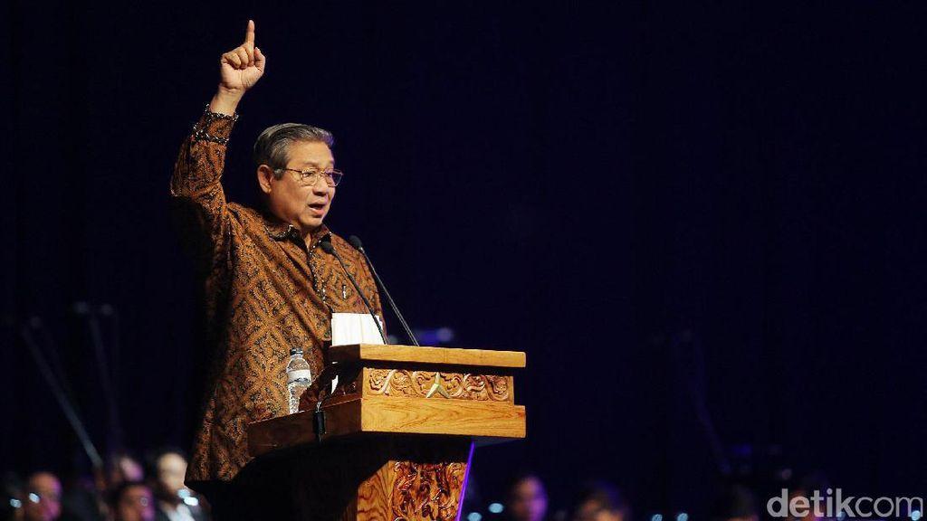 SBY Hadiri Perayaan Natal Nusantara Partai Demokrat