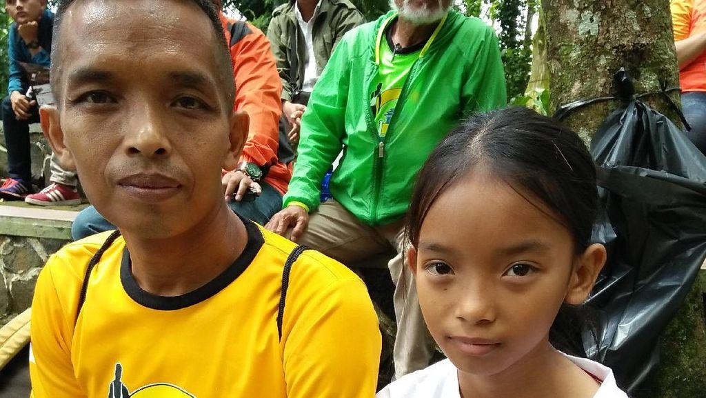 Syifa Amalya: Si Bocah Peraih Podium Tahura Trail Running Race 2017