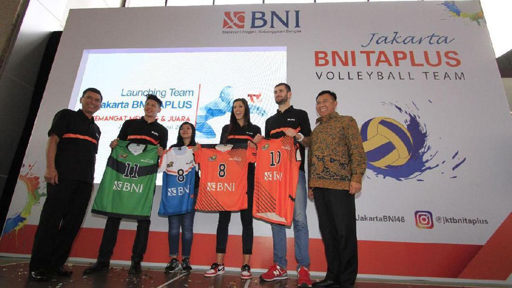 Proliga 2017, Jakarta BNI Taplus Juga Turunkan Tim Putri