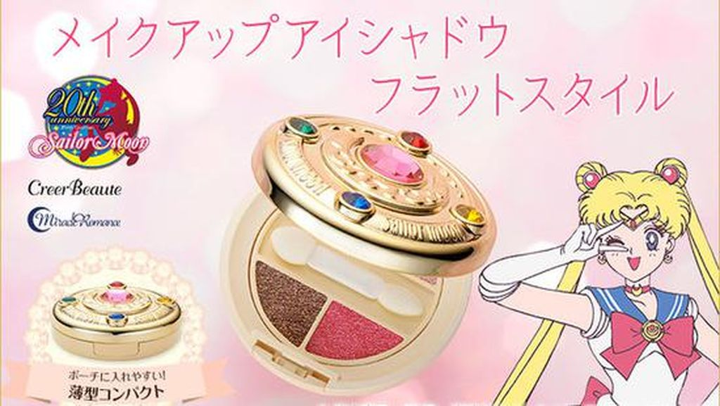 Cute, Ada Eyeshadow Bertema Sailor Moon