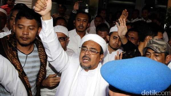 Polisi Koordinasi Penjemputan Habib Rizieq, Pengacara: Berlebihan