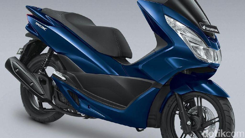 Honda Tambah 1 Warna PCX, Biru Poseidon, Harga Rp 40,05 Juta
