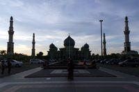Masjid An Nur yang mirip Taj Mahal (Wahyu/detikTravel)