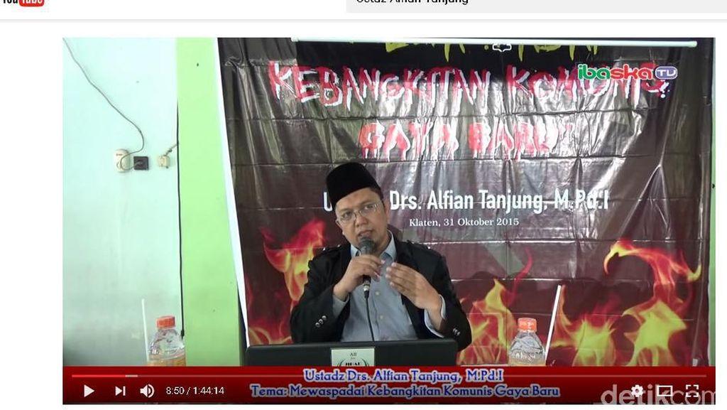 Alfian Tanjung Tersangka, Pengacara: Dia Hanya Sosialisasi TAP MPR