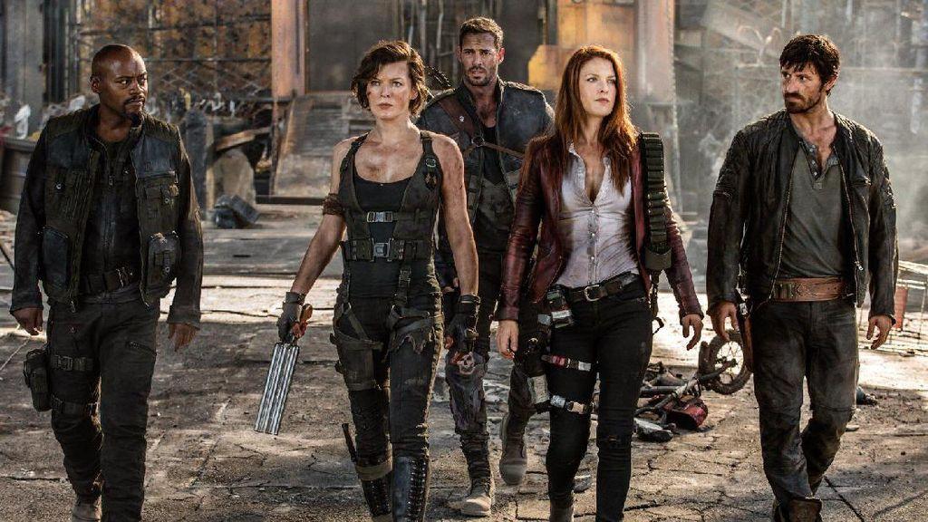 Resident Evil: The Final Chapter: Aksi Milla Jovovich Bertahan Hidup