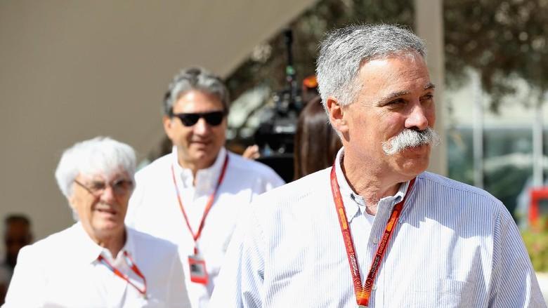 Carey Sebut Tanpa Ecclestone, F1 Berpotensi Dijalankan dengan Cara Berbeda
