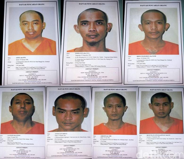 Akhir Pelarian 7 Tahanan Penjebol Tembok Bareskrim