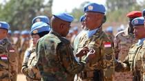 PBB Beri Medali Kehormatan untuk Pasukan Perdamaian TNI di Darfur