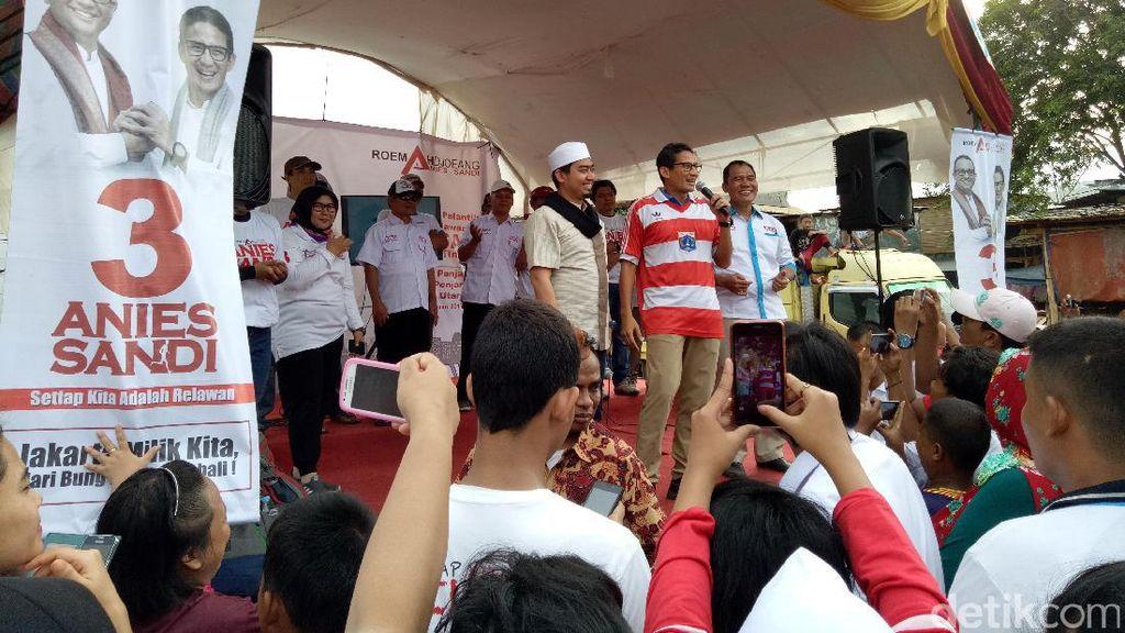 Dampingi Sandiaga Kampanye, Ustaz Solmed Ajak Warga Tidak Golput