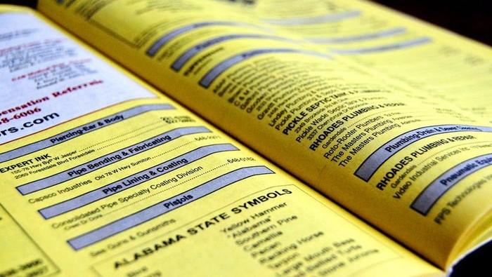 Yellow Pages (Foto: Istimewa)