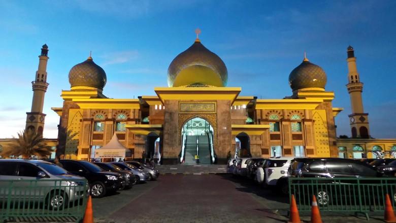 Masjid An Nur, Taj Mahal dari Pekanbaru (Wahyu/detikTravel)
