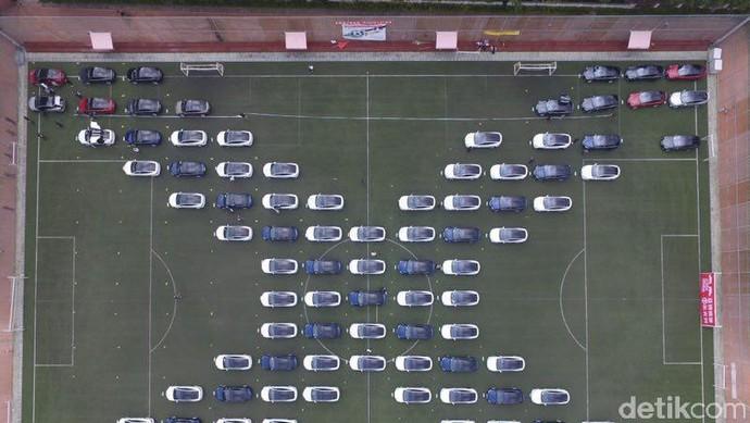 Begini Kalau Mobil Listrik Sedang berkumpul