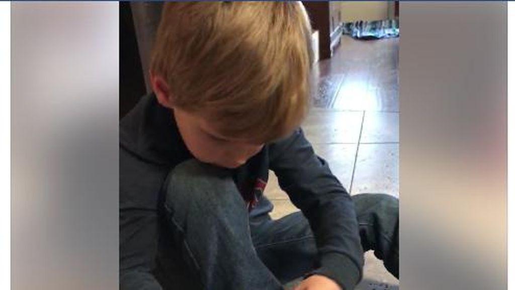 Viral, Trik Bocah 5 Tahun Agar Lebih Gampang Ikat Tali Sepatu